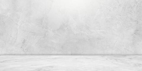 concrete wall and concrete floor blank studio