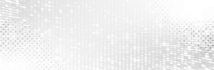 Fototapeta Abstract White Gray background. Halftone pattern. Neutral backdrop. Lecture, seminar, symposium, workshop, conference or briefing presentation template. White vector illustration obraz