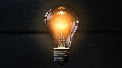 Fototapeta #idea #bulb obraz