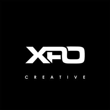XPO Letter Initial Logo Design Template Vector Illustration