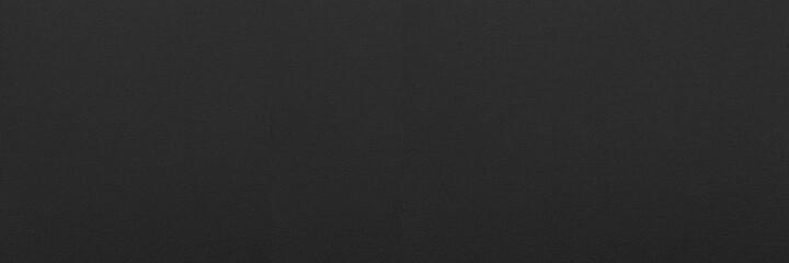Fototapeta Panorama of Black linen texture and background seamless or Black fabric texture obraz