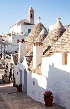 Trulli houses, Alberobello, UNESCO World Heritage Site, Apulia, Italy