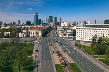 Fototapeta Warszawa aleja Niepodległości 2021 obraz