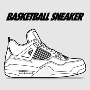 Hypebeast Sneaker Basketball Sport Shoe