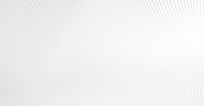 Vector background with white abstract wave dots