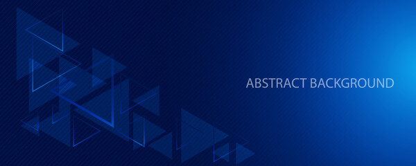 soft navy and dark blue abstract wallpaper and horizontal modern banner background