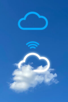 Innovation cloud connection for new technology for future digital platform, connection cloud computing, micro-service, cloud storage, data driven connection, data analytic, big data analysis