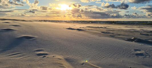 Obraz panorama plaży - fototapety do salonu