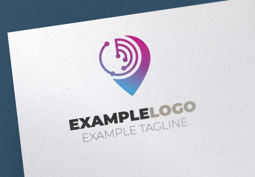 Location Technology Logo Set