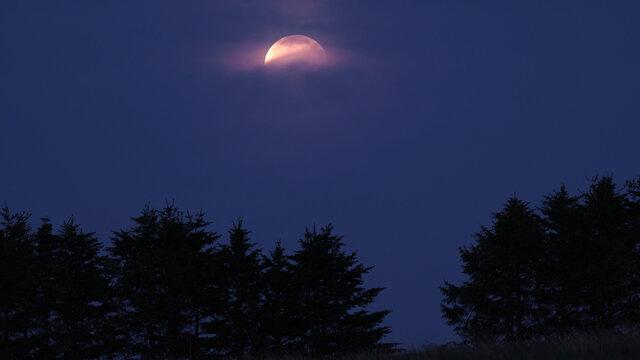 満月・皆既月食