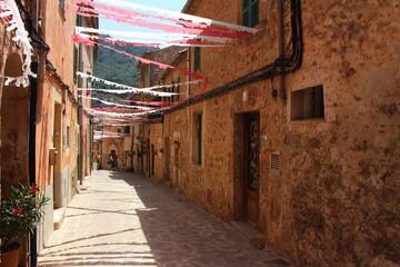 kleine steegjes in Mallorca