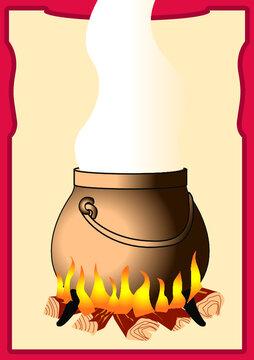 cuisine marmite chaudron