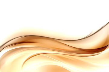 Gold waves abstract background. Modern trendy golden texture.
