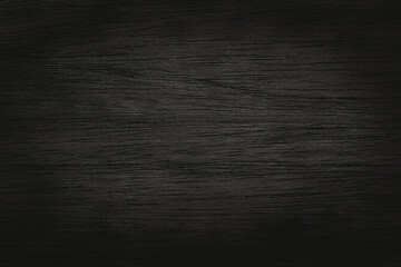 Obraz Black grey wooden plank wall texture background, old natural pattern of dark wood grained. - fototapety do salonu