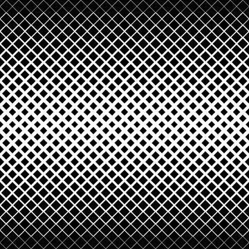 Abstract geometric black and white graphic design print halftone triangle pattern. Design element for background, posters, cards, wallpapers, backdrops, panels - Vector illustration