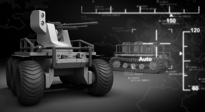 Military Robot and Interface