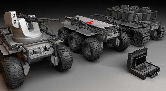 Robot for War