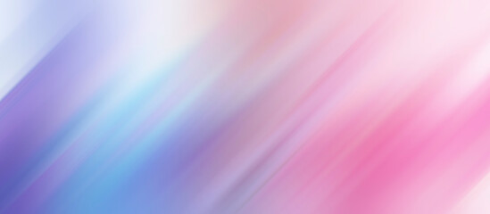 Obraz abstract blurred gradient pastel colors diagonal lines pink purple - fototapety do salonu