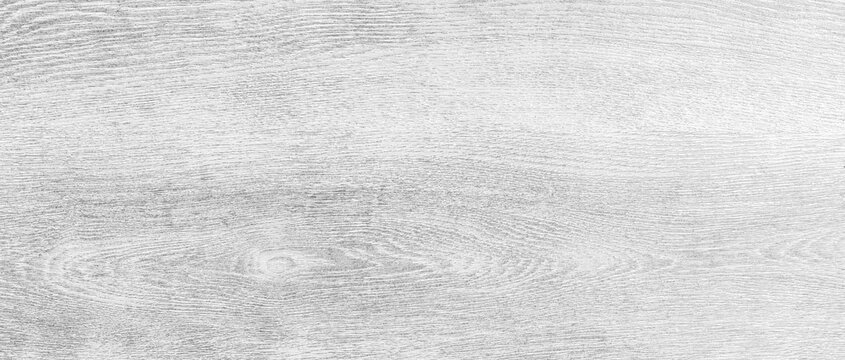 Panorama of White vintage wooden table top pattern texture and seamless background