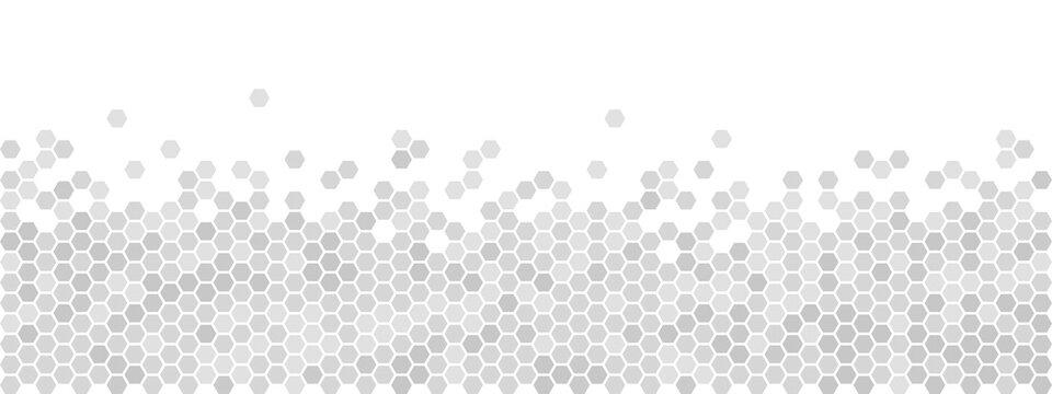 ARRIÈRE-PLAN DE NID D'ABEILLE gris