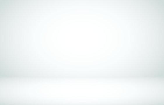 White studio empty room background