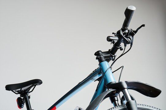 New bicycle with accessories