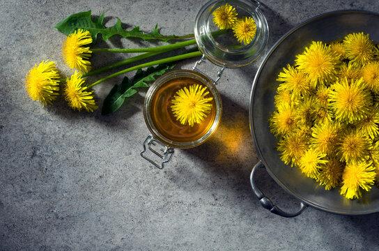 Healing honey and dandelions