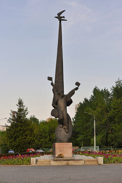 monument to the Solovetsky jungs who died during the Great Patriotic War