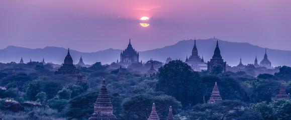 Fototapeta Temples of Bagan, Burma, Myanmar, Asia. obraz