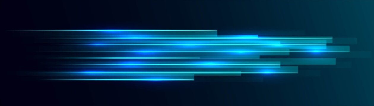 Neon abstract background, texture glowing rectangles, geometric shapes, LED strip design, technology background, straight lines, shooting stars, milky way, splash screen, vector illustration
