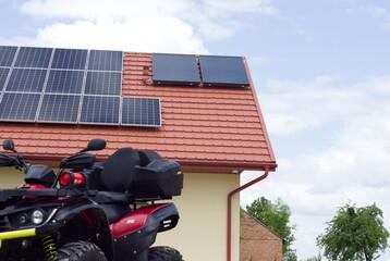 Fotowoltaika, odnawialne źródła energii, energia elektryczna z paneli fotowoltaicznych, prąd za darmo,