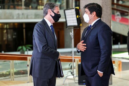 U.S. Secretary of State Antony Blinken visits Costa Rica