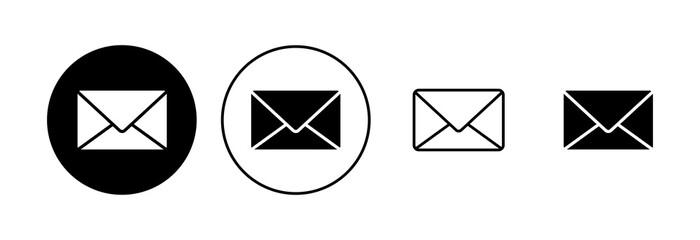 Obraz Mail icon set. email icon vector. E-mail icon. Envelope illustration - fototapety do salonu