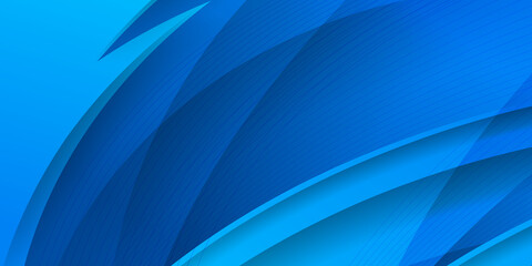 Fototapeta Abstract background in blue colors. Modern abstract high speed movement. Colourful dynamic motion on blue background. Movement sport pattern for banner or poster design background concept.  obraz