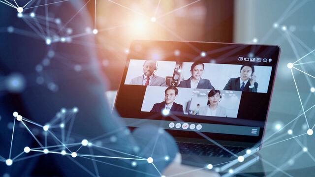 ビジネスネットワーク テレワーク ビデオ会議