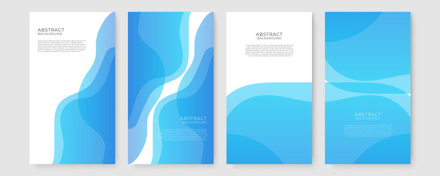 Abstract background vector with blue wave. Abstract blue vector background with wave. abstract smooth blue wave background