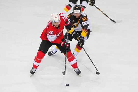 IIHF World Ice Hockey Championship 2021 - Quarter Final - Switzerland v Germany