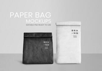 Fototapeta Minimal Paper Bag Mockup obraz