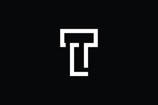 TL letter logo design on luxury background. LT monogram initials letter logo concept. TL icon design. LT elegant and Professional letter icon design on black background. T L LT TL