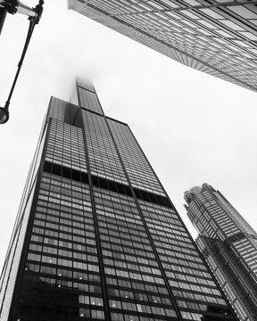 Mies Van Der Rohe building. Chicago