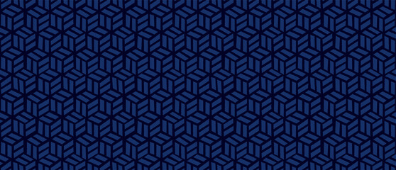 Traditional Japanese  background. Seamless pattern.Vector. 伝統的な和風パターン