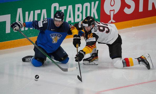 IIHF World Ice Hockey Championship 2021 - Semi Final - Finland v Germany