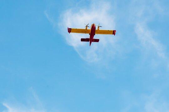 amphibious wildland firefighting aircraft or tanker aircraft