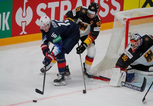 IIHF World Ice Hockey Championship 2021 - Bronze Medal Game - United States v Germany