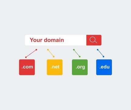 design about your domain illustration