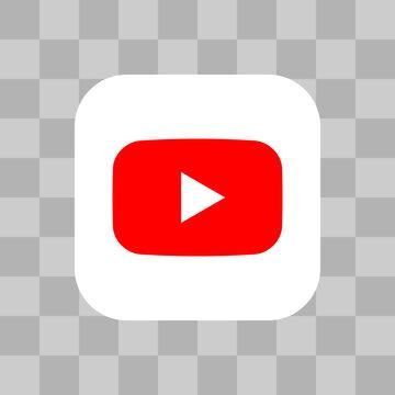 Youtube logo application icon