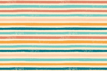 Vector hand painted colorful stripes background