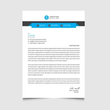 letterhead roll up template design