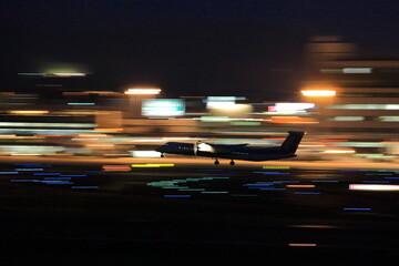 Night Airport 空港夜景