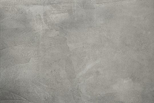 background. grey concrete wall. floor